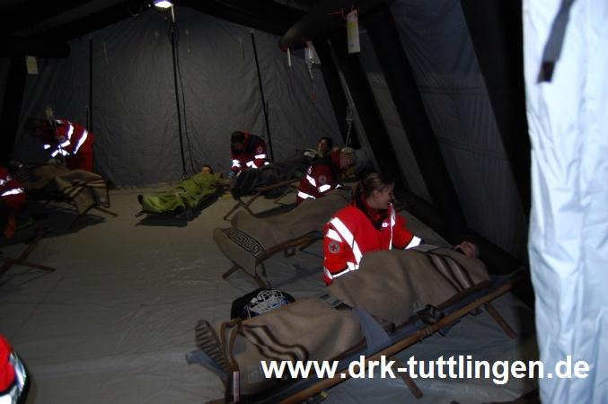 Tunnelübung in Schiltach - DRK OV Tuttlingen